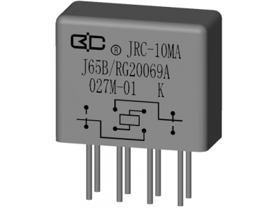 JRC-10MA B Crystal Cover Relay