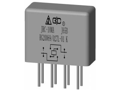 JRC-10MA A Crystal Cover Relay