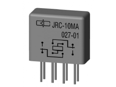 JRC-10MA Crystal Cover Relay