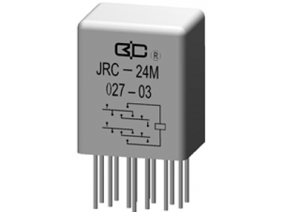 JRC-24M Crystal Cover Relay