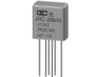JRC-26MA Crystal Cover Relay