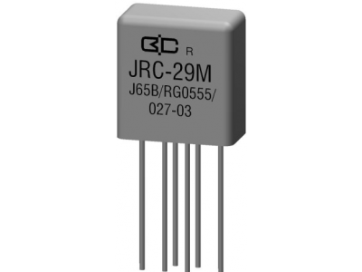 JRC-29M Crystal Cover Relay