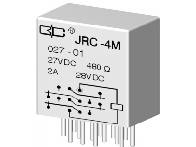 JRC-4M Crystal Cover Relay