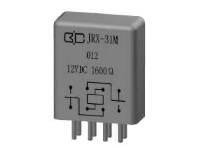 JRX-31M Crystal Cover Relay