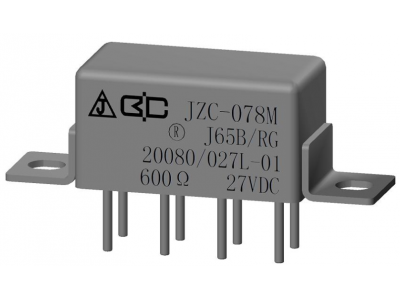 JZC-078M Crystal Cover Relay