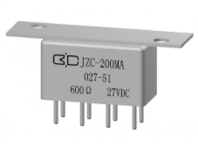 JZC-200MA Crystal Cover Relay