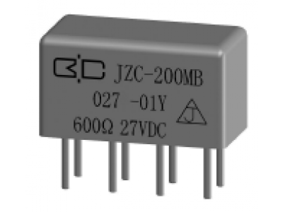 JZC-200MB Crystal Cover Relay