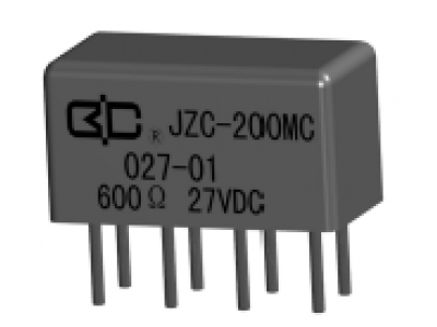 JZC-200MC Crystal Cover Relay