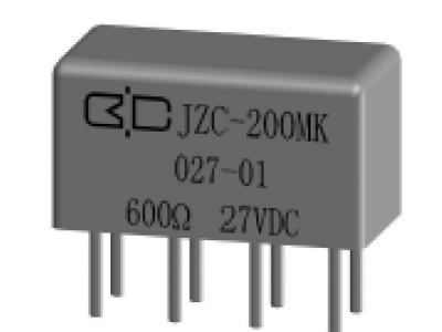 JZC-200MK Crystal Cover Relay
