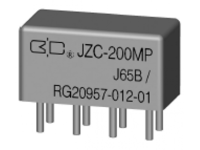 JZC-200MP Crystal Cover Relay