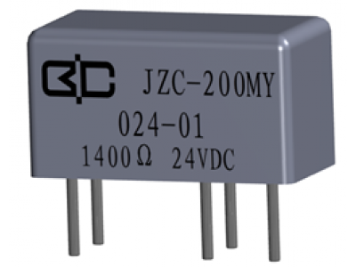 JZC-200MY Crystal Cover Relay