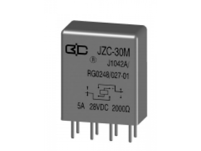 JZC-30M Crystal Cover Relay