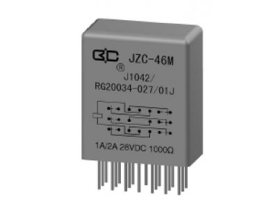 JZC-46M Crystal Cover Relay