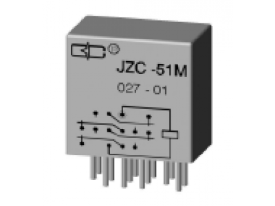 JZC-51M Crystal Cover Relay