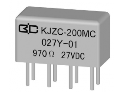 KJZC-200MC Crystal Cover Relay