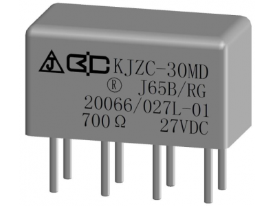 KJZC-30MD Crystal Cover Relay
