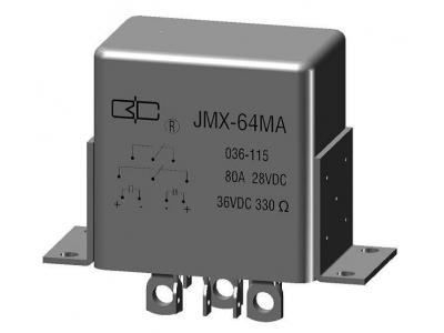JMX-64MA Magnetic reten tion relay