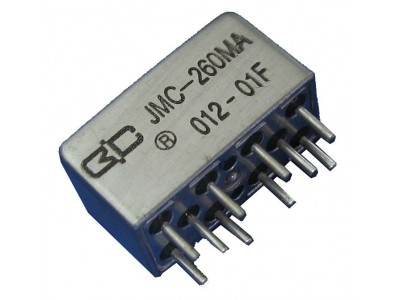 JMC-260MA  SUBMINIATURE HERMETICALLY SEALED LATCHING RELAY